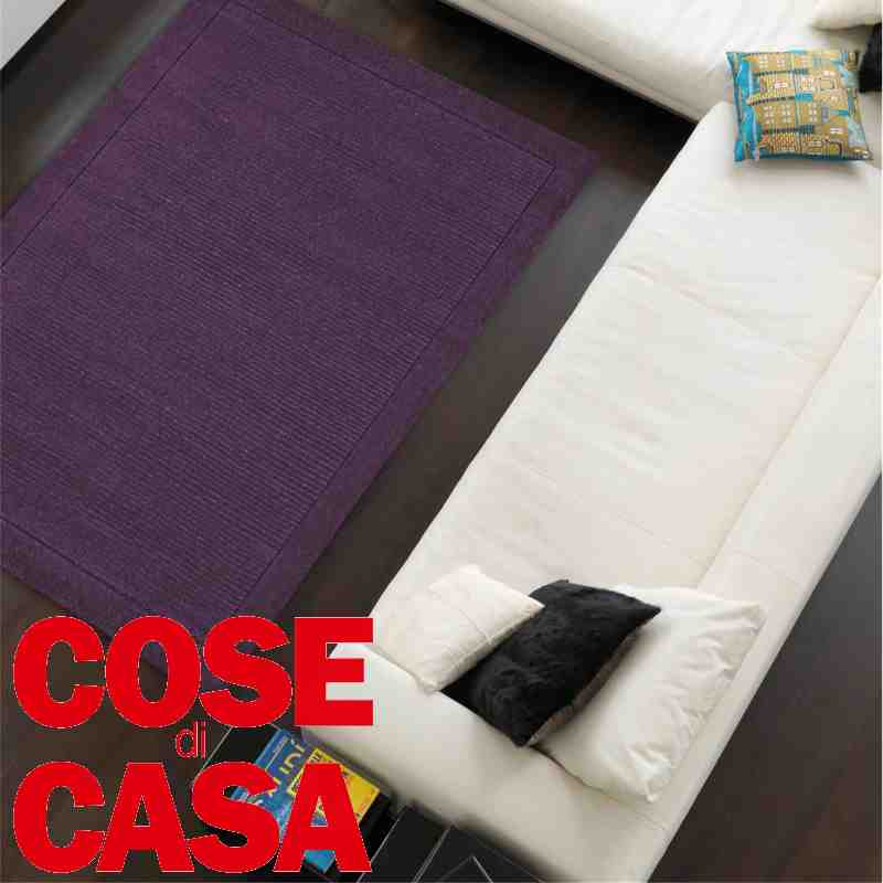 tappetto moderno York purple