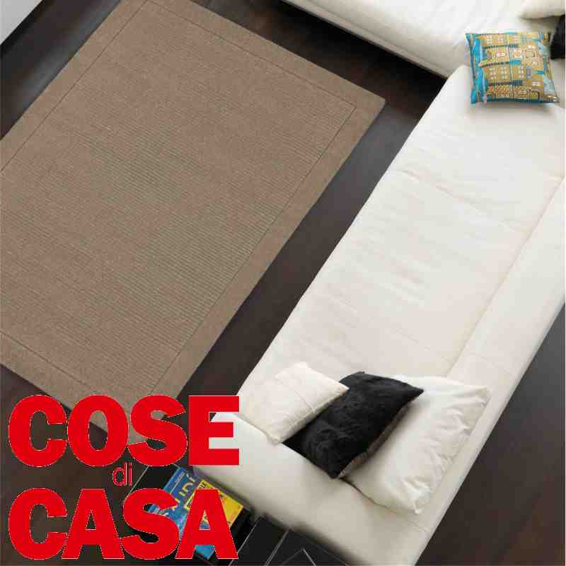 tappetto moderno York taupe