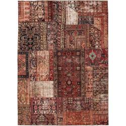 tappeto persia vintage patchwork cm 260x358