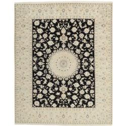 tappeto persia nain fine con seta cm 200x252