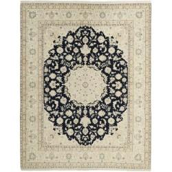 tappeto persia nain fine con seta cm 199x255