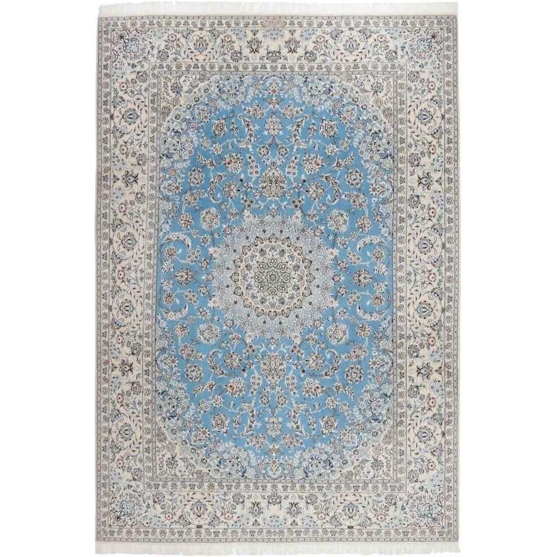 tappeto persia nain fine con seta cm 250x363