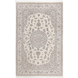 tappeto persia nain fine con seta cm 208x315