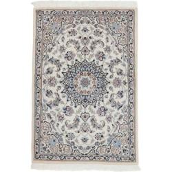 tappeto persia nain fine con seta cm 95x140