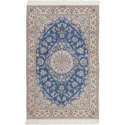 tappeto persia nain fine con seta cm 130x197