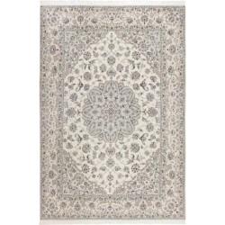 tappeto persia nain fine con seta cm 245x350