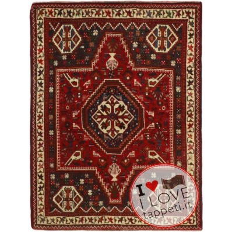 tappeto persia shiraz cm 115x161