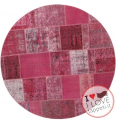 tappeto persia vintage patchwork cm 200x200