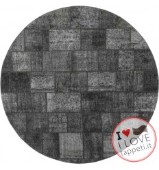 tappeto persia vintage patchwork cm 250x250