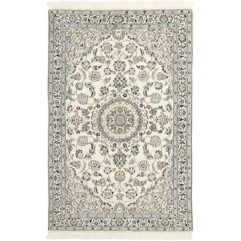 tappeto persia nain fine con seta cm 113x175