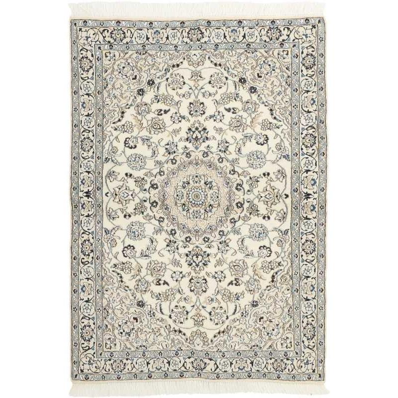 tappeto persia nain fine con seta cm 116x168
