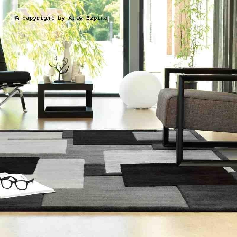 Tappeto moderno soggiorno Reflective Arte Espina (-15%) anthracite