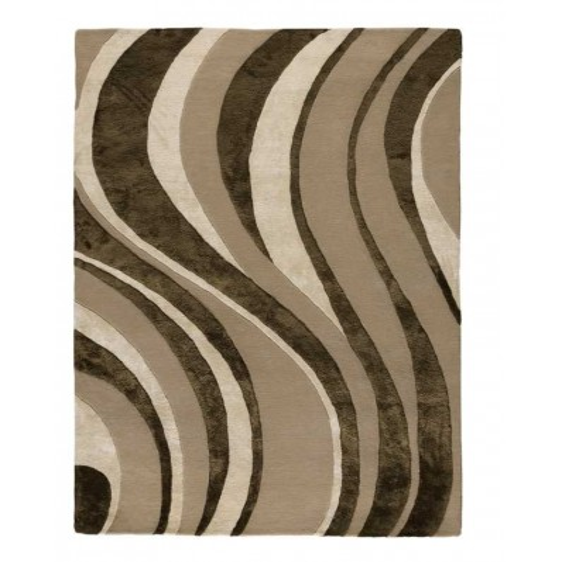 Tappeto moderno Arizona beige Renato Balestra cm.170x240 in offerta