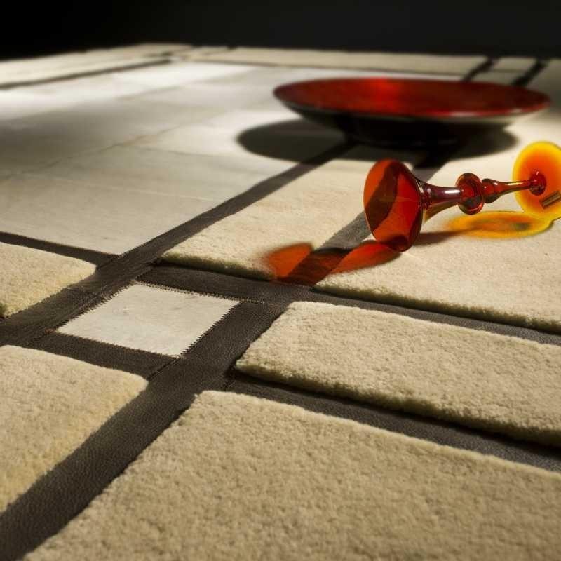 Carpet moderno Leon beige Renato Balestra cm.140x200 in offerta