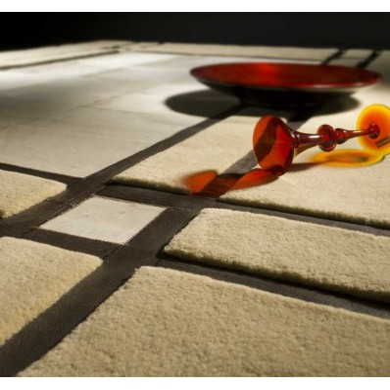 Tappeto moderno Leon beige Renato Balestra cm.200x300 in offerta