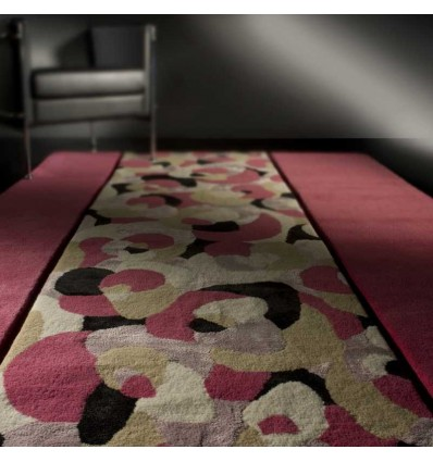 Amazing tappeto moderno living pink renato balestra cmx in for Offerte tappeti ikea
