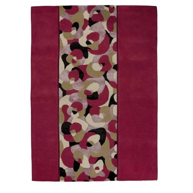 Tappeto moderno Living pink Renato Balestra cm.140x200 in offerta