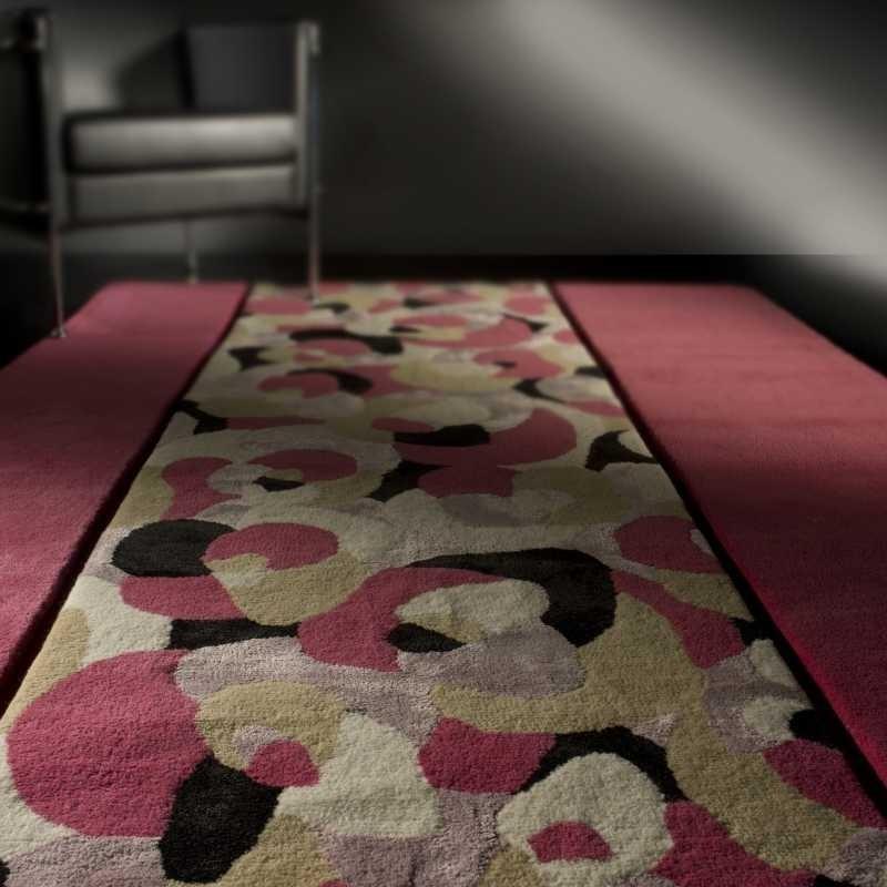 Tappeto moderno Living pink Renato Balestra cm.170x240 in offerta