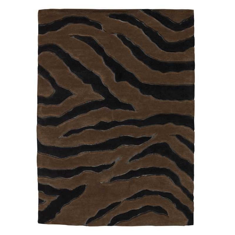Carpet moderno Nova black brown Renato Balestra cm.140x200 in offerta