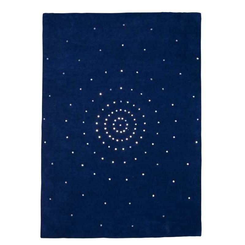 Carpet moderno Skye blue Renato Balestra cm.170x240 in offerta
