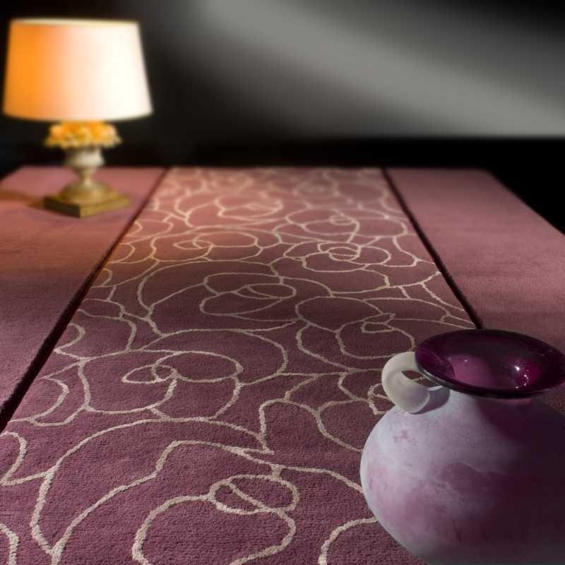Tappeto moderno Vega violet Renato Balestra cm.170x240 in offerta