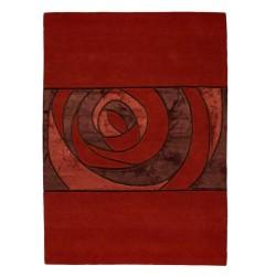 Carpet moderno Wallflor Gravity Red Lauren Jacob