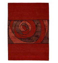 Tappeto moderno Wallflor Gravity Red Lauren Jacob