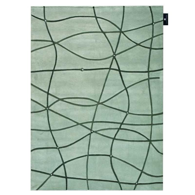 Tappeto moderno Wallflor Map Grey Lauren Jacob