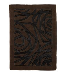 Tappeto moderno Wallflor Thea Black Brown Lauren Jacob