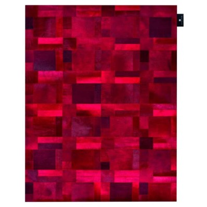 Tappeto moderno Wallflor Flame Red Lauren Jacob