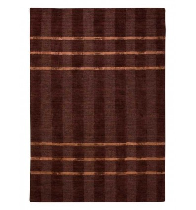Tappeto moderno Wallflor Carver Choco Lauren Jacob