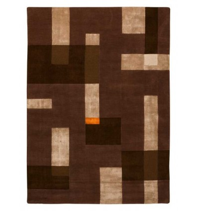 Carpet moderno Wallflor Ossian Beige Brown Lauren Jacob