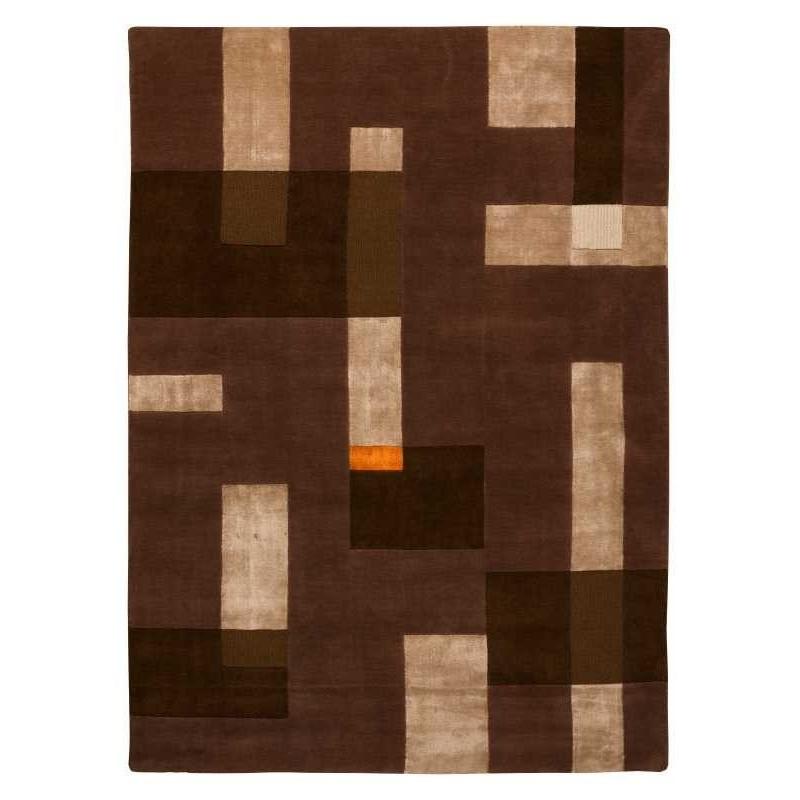 Tappeto moderno Wallflor Ossian Beige Brown Lauren Jacob