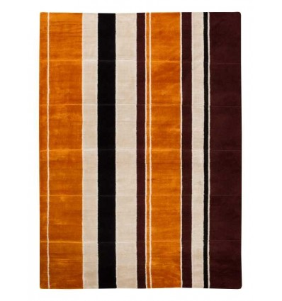 Tappeto moderno Wallflor Sunset Rust Lauren Jacob