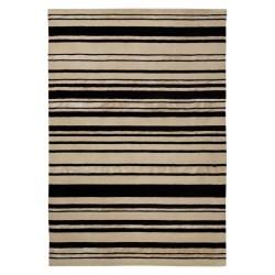 Carpet moderno Wallflor Barcode Black White Lauren Jacob