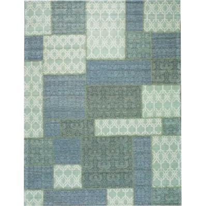Carpet moderno Wallflor Patchwork 2 Light Grey Lauren Jacob