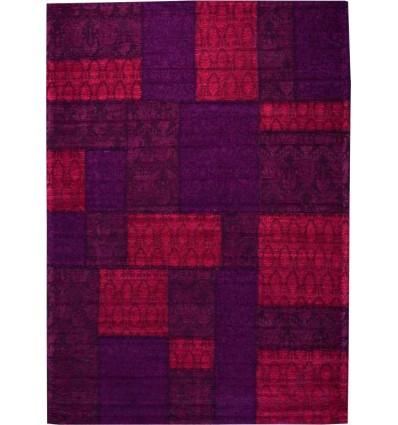 Tappeto moderno Wallflor Patchwork 9 Red Lauren Jacob