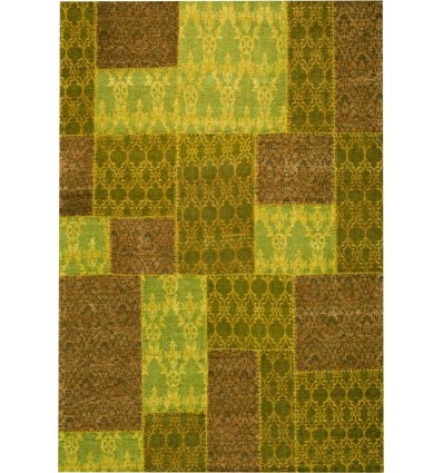 Tappeto moderno Wallflor Patchwork 5 Yellow Lauren Jacob