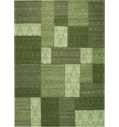 Carpet moderno Wallflor Patchwork 6 Green Lauren Jacob