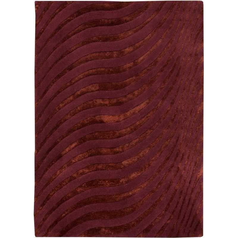 Tappeto moderno Wallflor Nadir 165 Aubergine Lauren Jacob