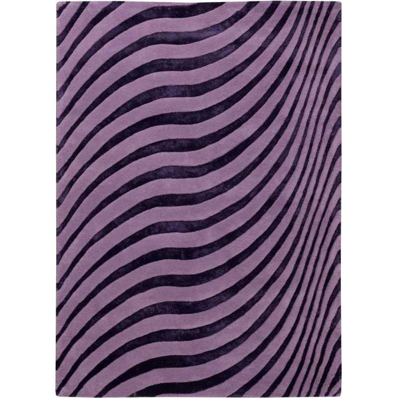 Tappeto moderno Wallflor Nadir 160 Violet Lauren Jacob
