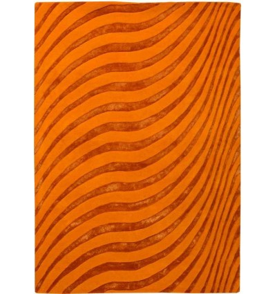 Tappeto moderno Wallflor Nadir 175 Orange Lauren Jacob