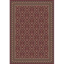 Tappeto persiano Tabriz classico rosso senza medaglione 12176