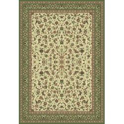 Carpet classico Tabriz classico medaglione crema-verde 12311