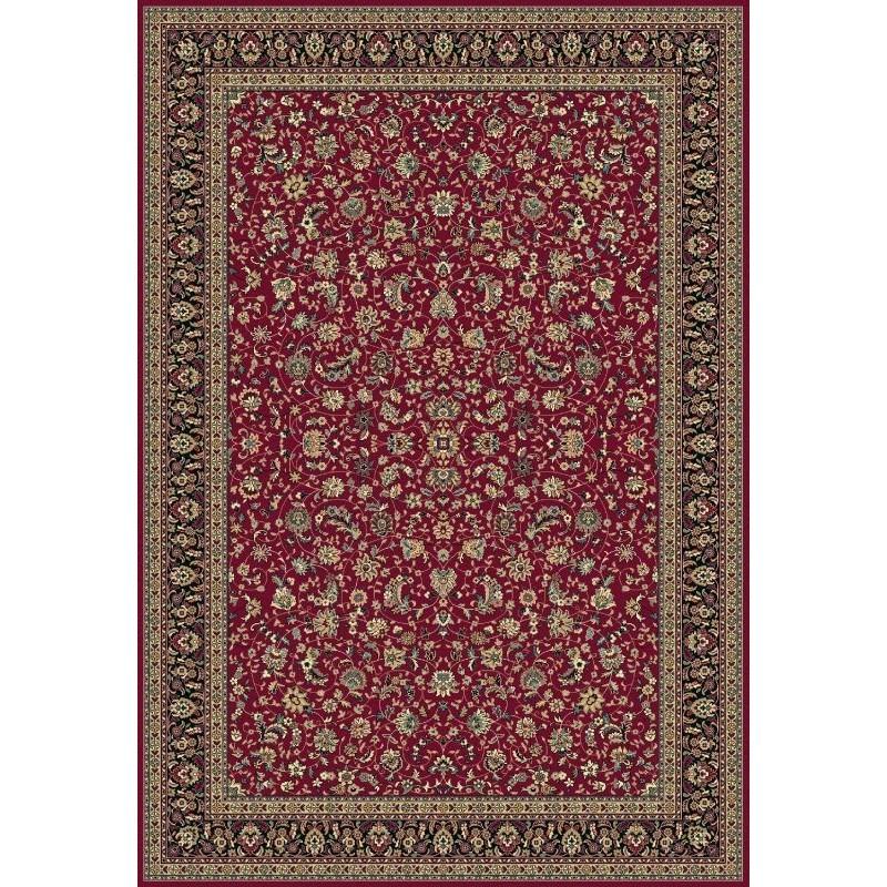 Tappeto persiano Tabriz classico floreale rosso 12311