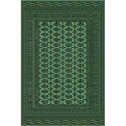 Tappeto persiano Bukhara lana extra fine verde 1292-671