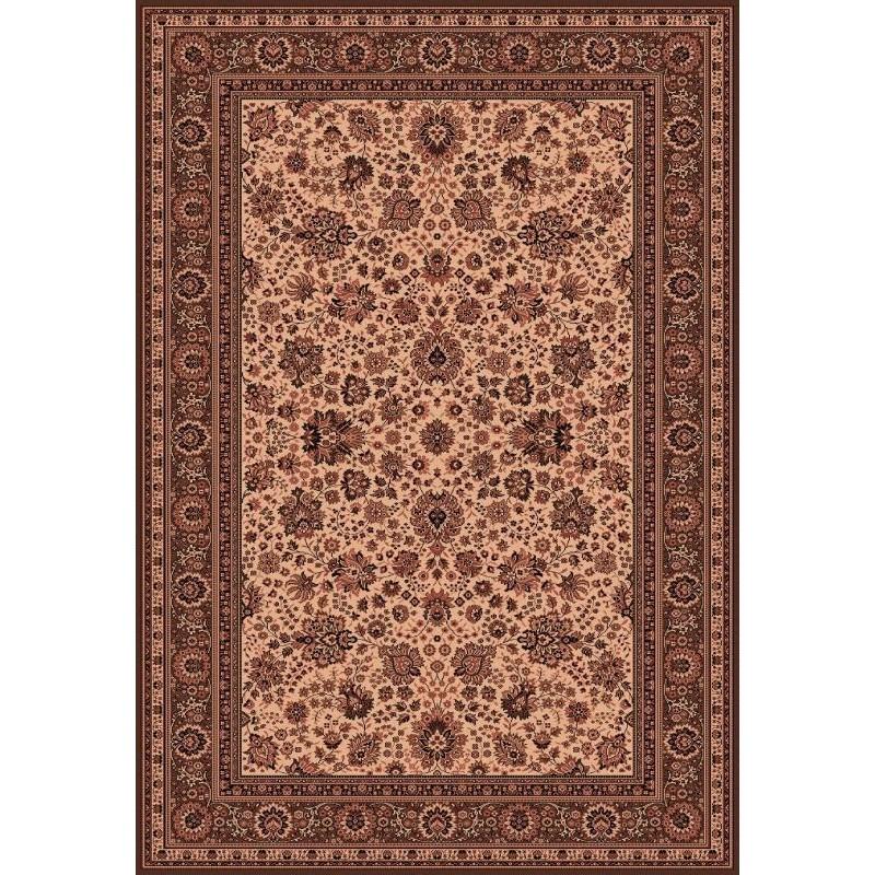 Tappeto persiano Tabriz fine lana crema-marrone 1561-504