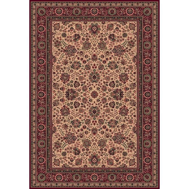 Tappeto persiano Tabriz fine lana beige-rosso 1561-505