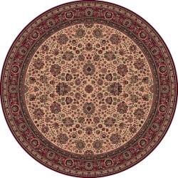 Tappeto persiano Tabriz fine lana rotondo beige-rosso 1570-505
