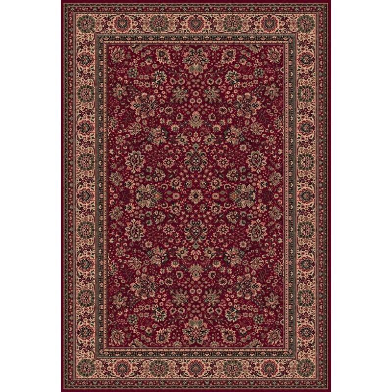 Carpet classico Tabriz fine lana rosso 1561-507